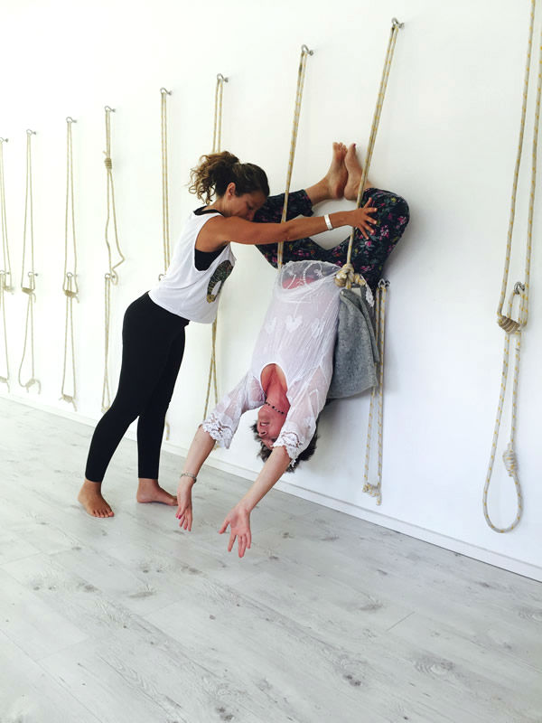 Iyengar Rope Yoga Workshops